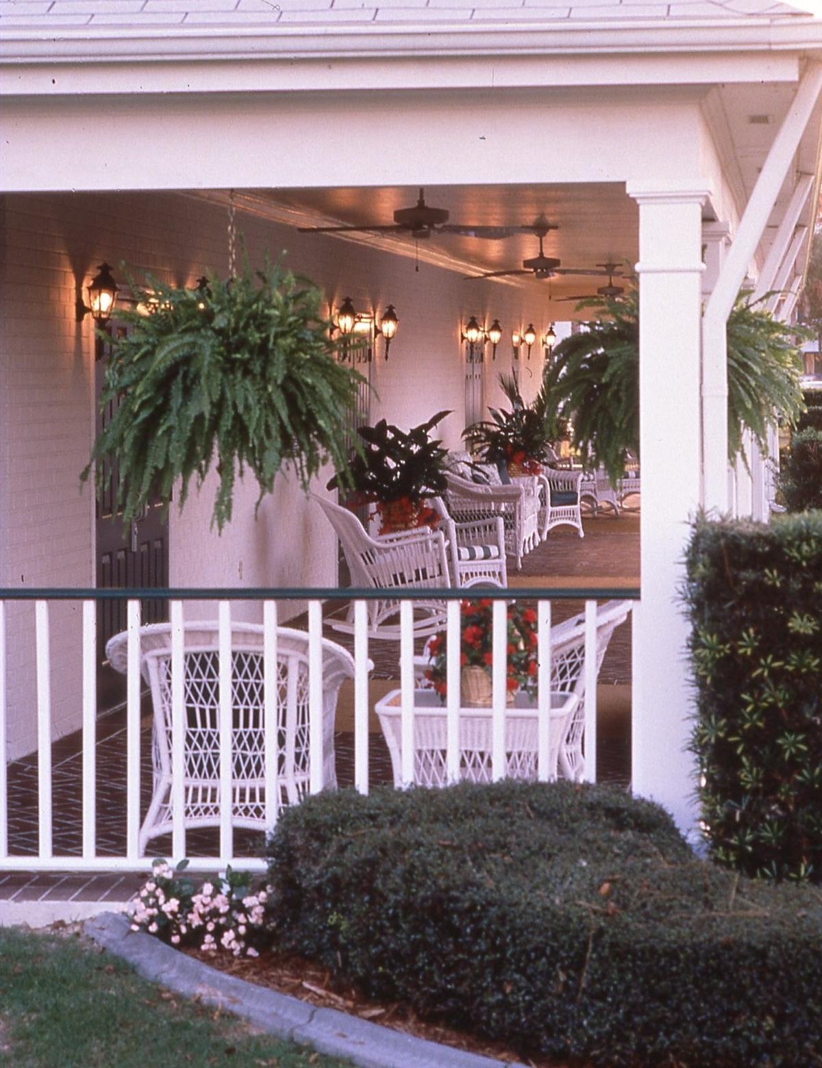 Patio Outside Convention Hall