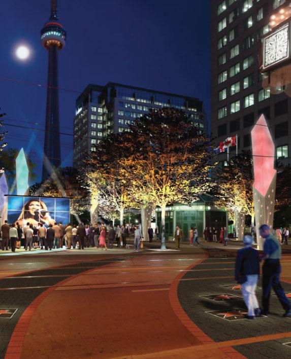 CANADA'S WALK OF FAME    Landscape Architecture  Toronto, ON, Canada