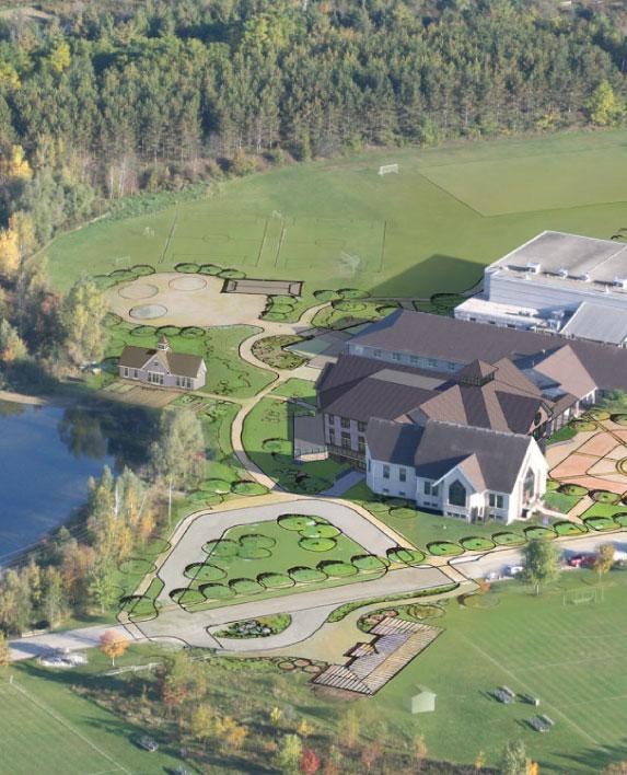 SJK SCHOOL    Master Plan  Breslau, ON, Canada