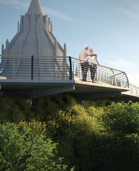 PARLIAMENT HILL CANTILEVERED WALKWAY    Feasibility Study   Ottawa, ON, Canada
