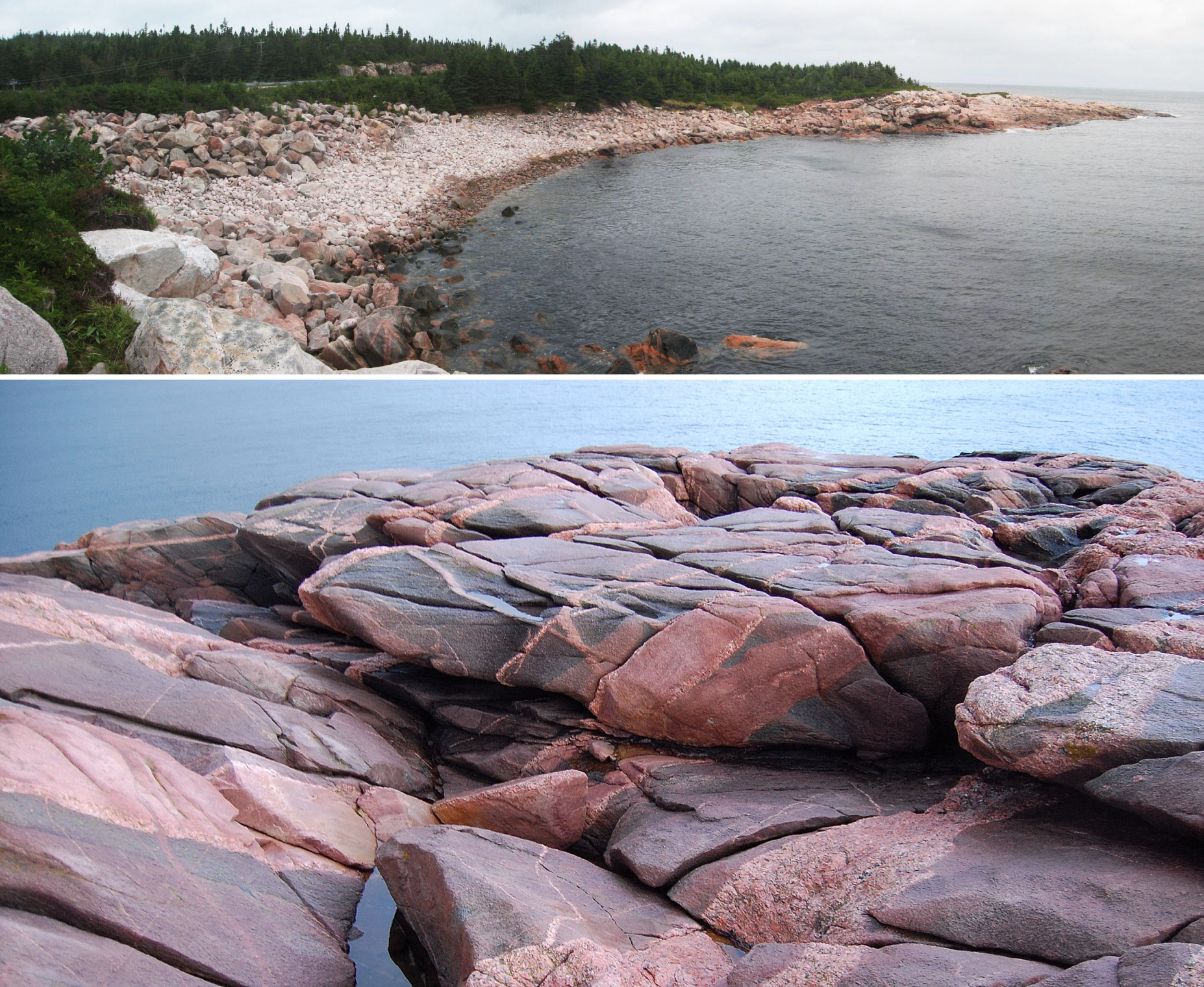 The Site: Green Cove, Cape Breton, NS, Canada.