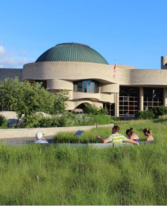 MUSEUM OF CIVILIZATION    Landscape Architecture  Ottawa, ON, Canada