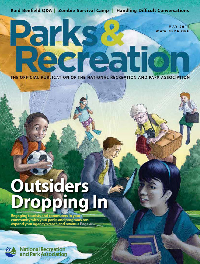 Parks & Recreation Magazine   June 2014 Skateparks & Community Engagement  by Patrick Morello