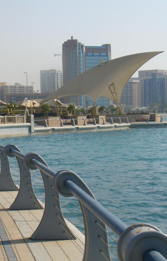 ABU DHABI CORNICHE    Waterfront Master Plan / Landscape Architecture   Abu Dhabi, UAE