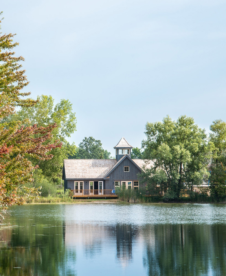 LAKESIDE BOATHOUSE    Residential Scale Architecture  Waterloo Region, ON, Canada