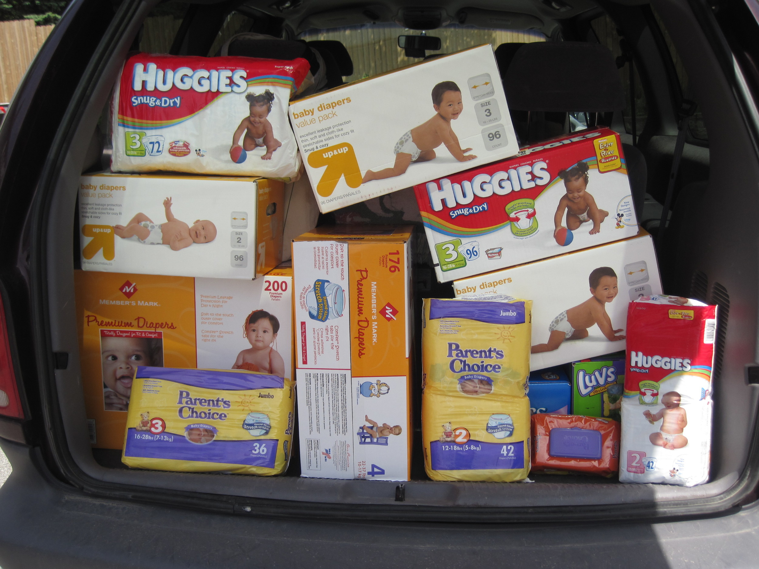 DMARC Diaper Drive for Pregnant Teens