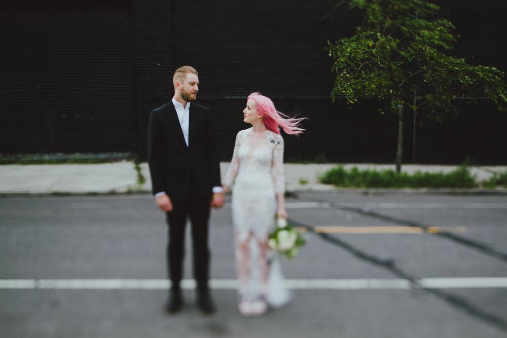 Wythe Hotel Wedding//Sean+Jazz