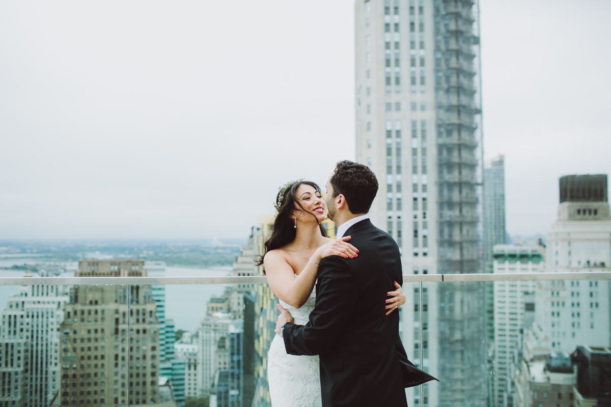 Battery Gardens Wedding//Adam+Diana