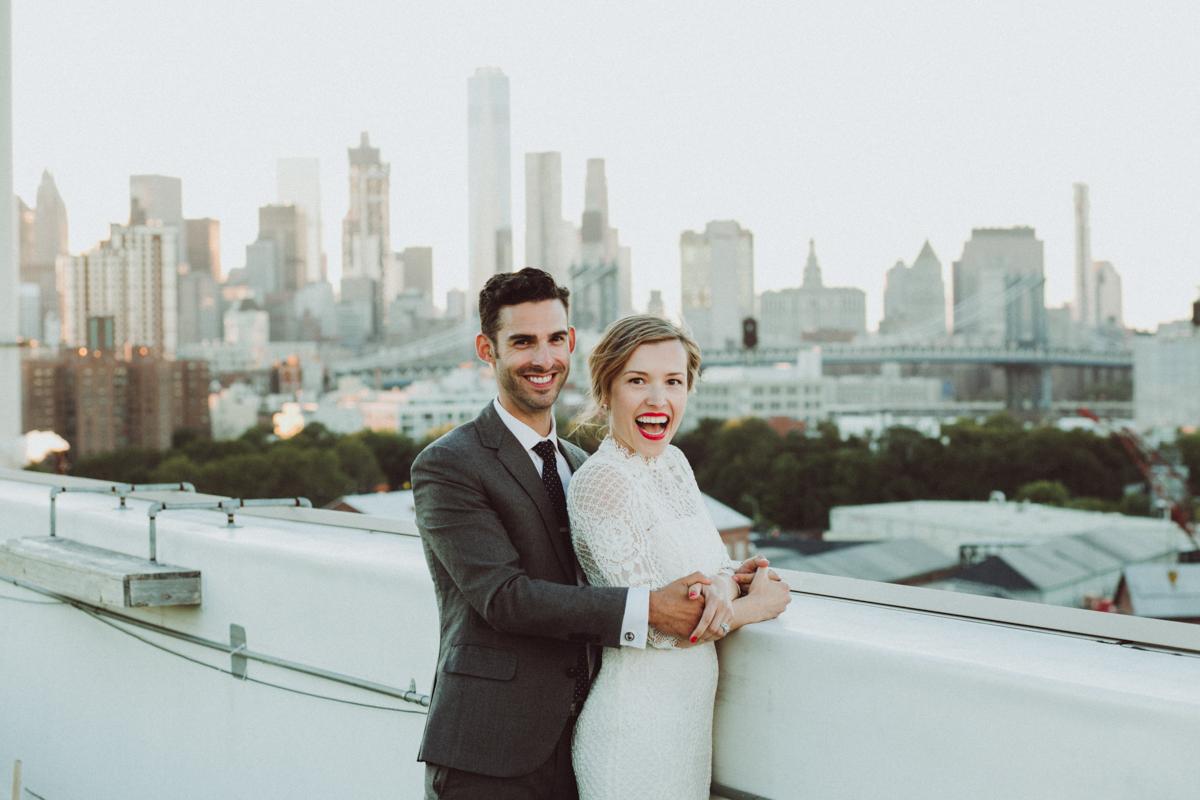 Brooklyn Grange Wedding//Elena+Wess