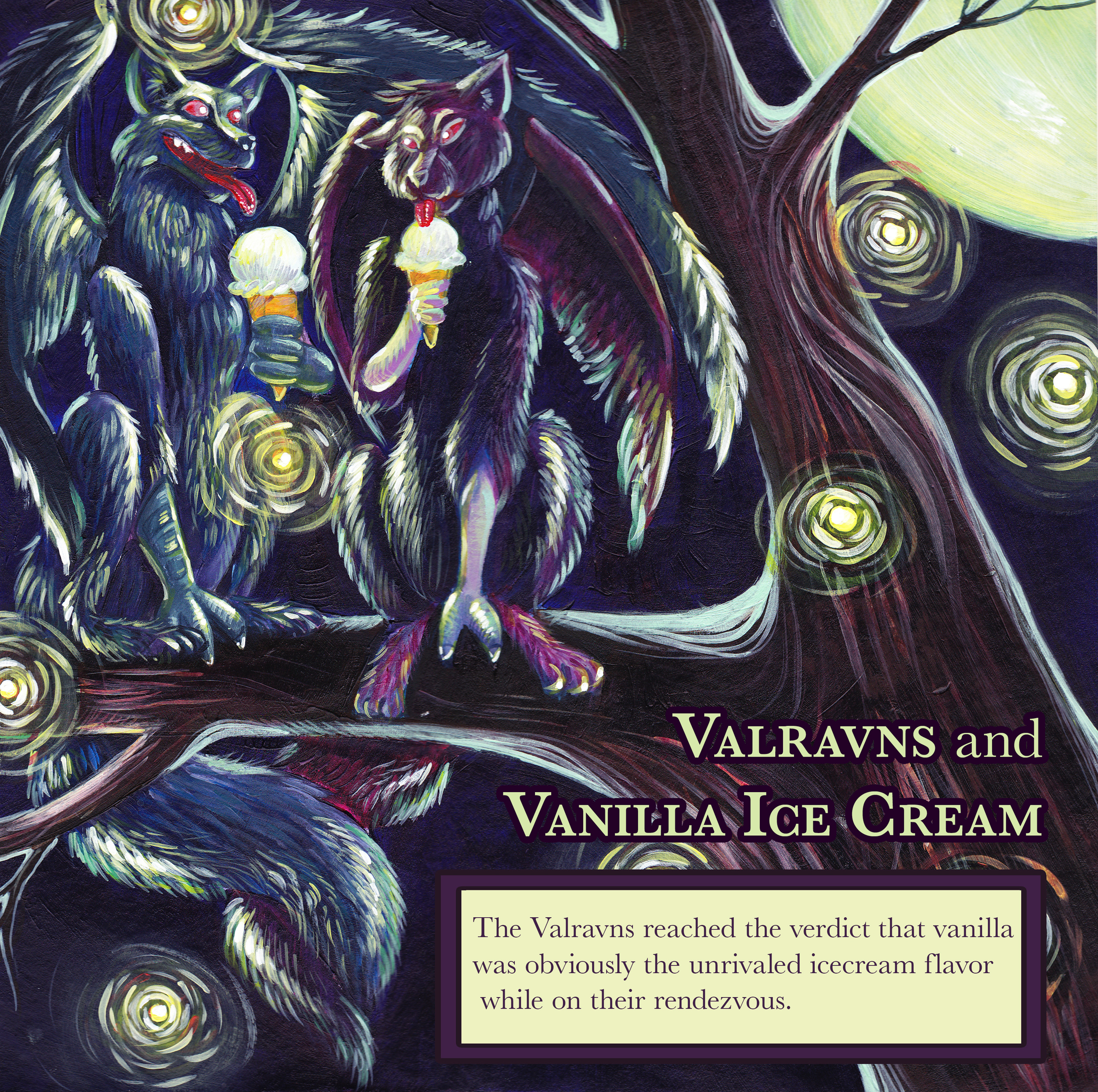 V is for Valraven