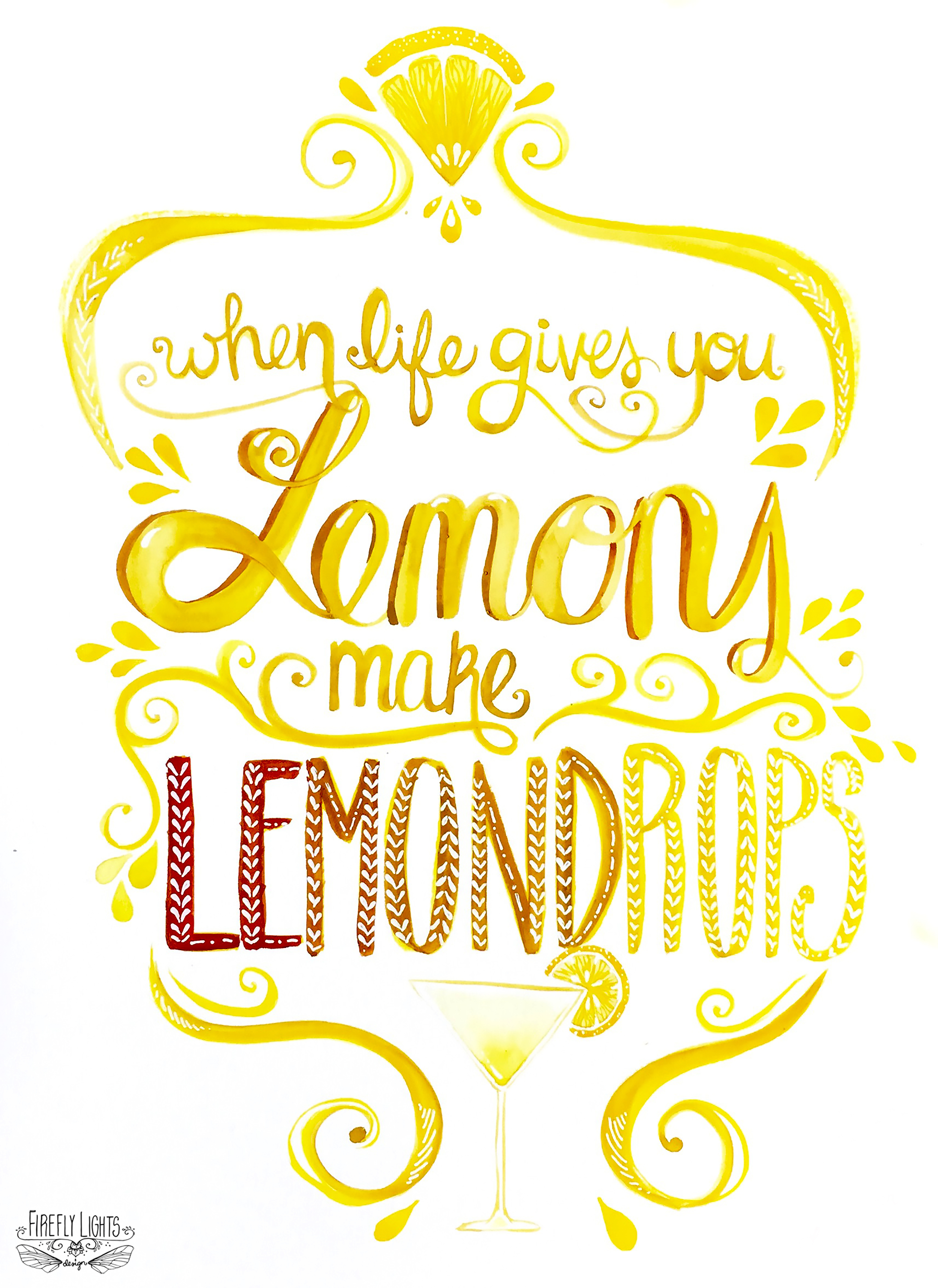 lemon-drop-typography-illustration