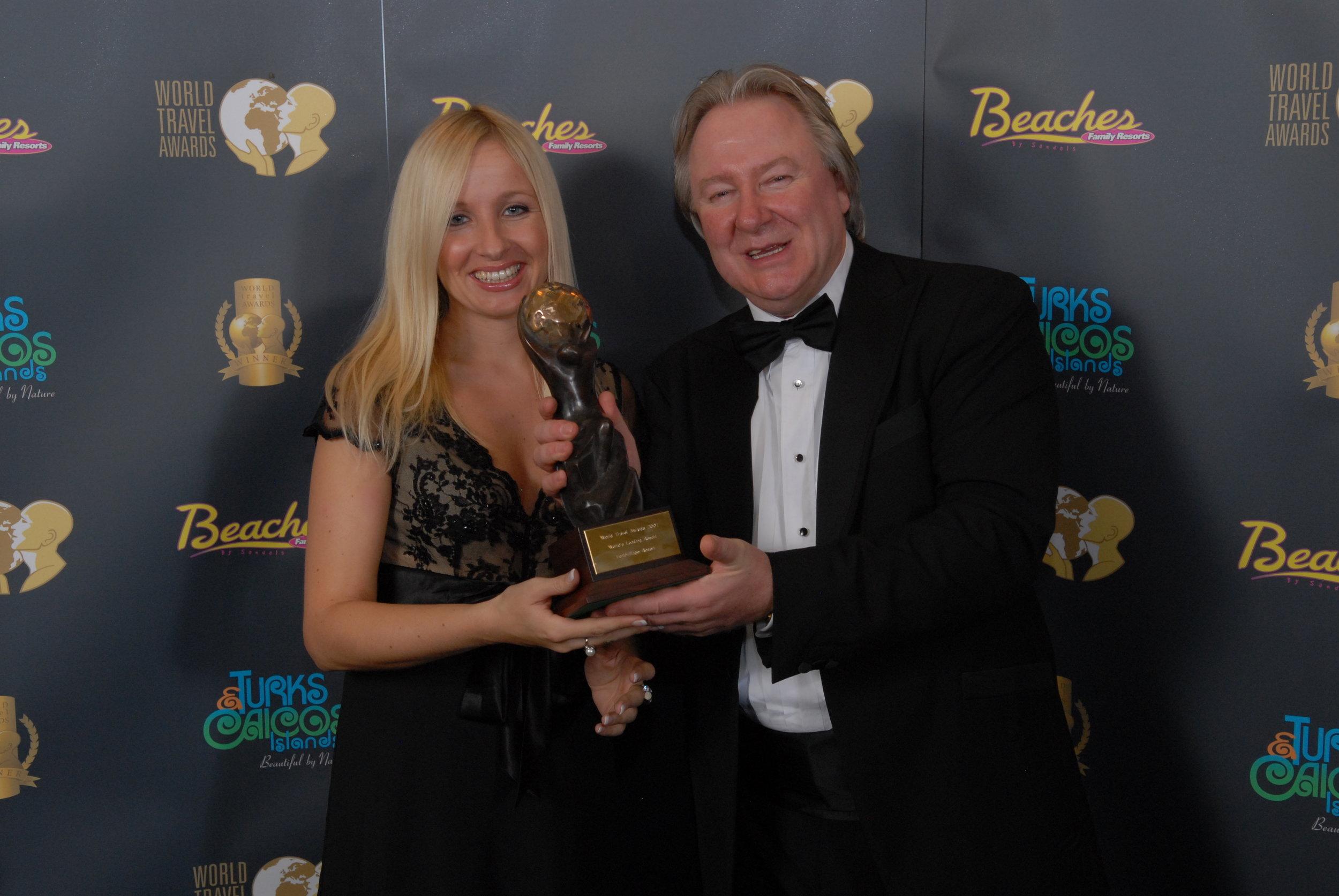 Daniela Steimel at World Travel Awards