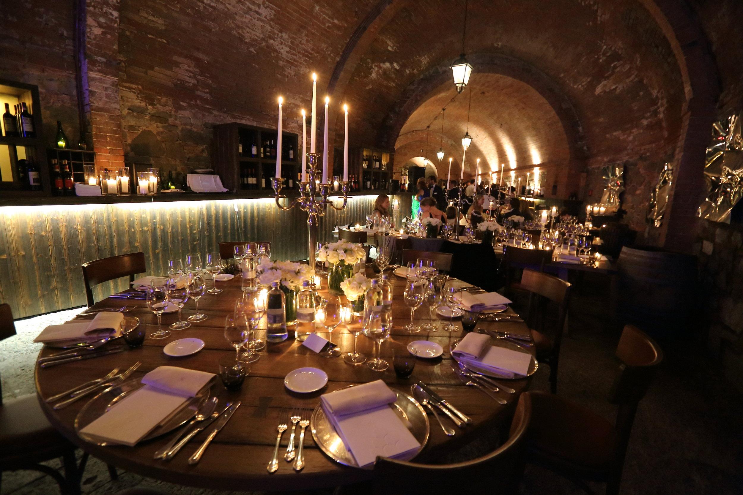 Castel Monastero Dinner.JPG