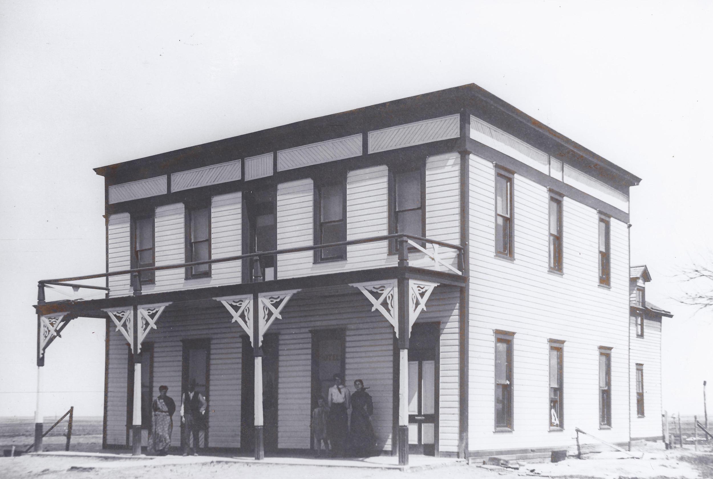 The Rutledge Hotel, Santa Fe - 1900