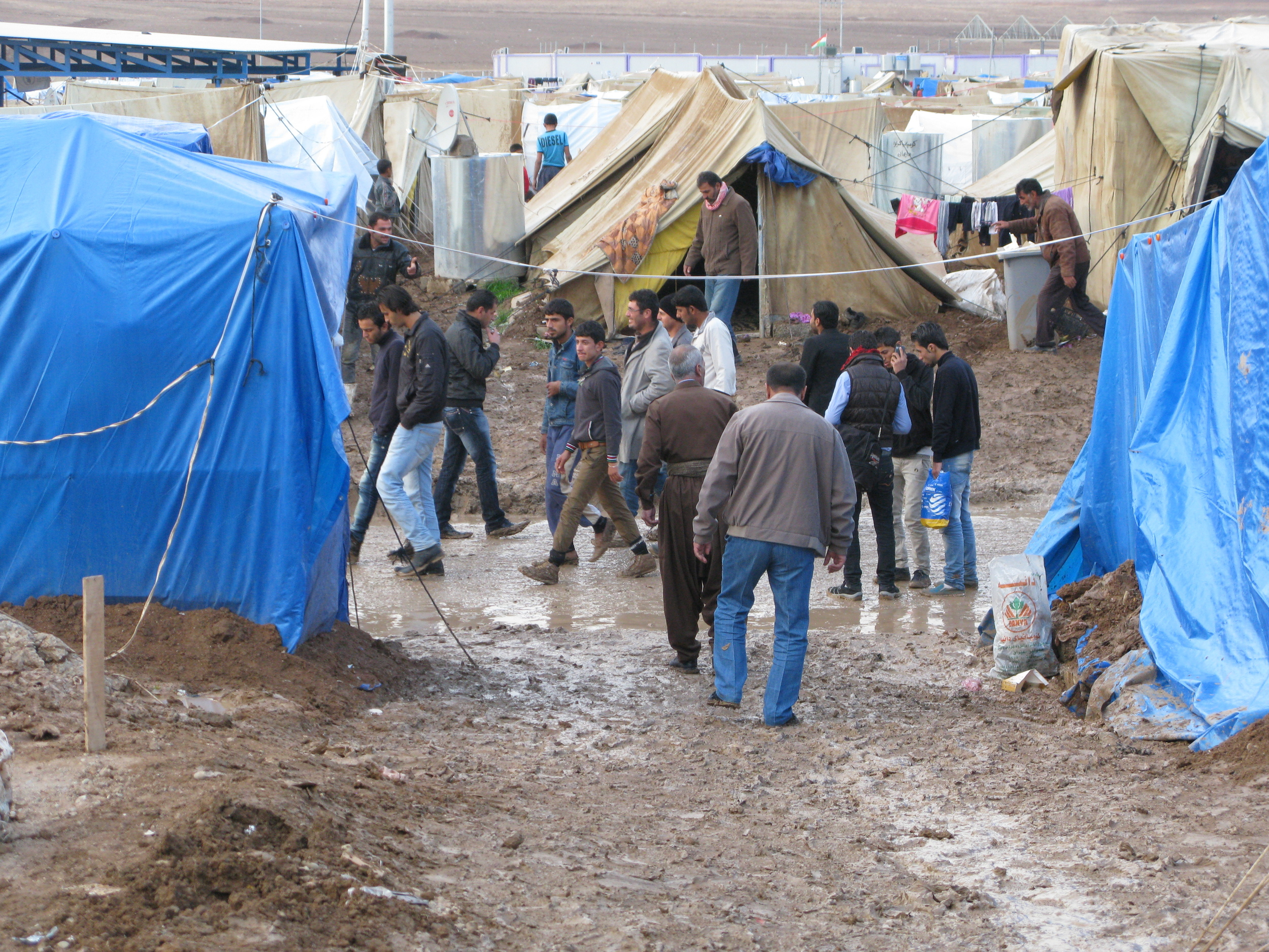 Syrian Refugee Camp - Make a difference