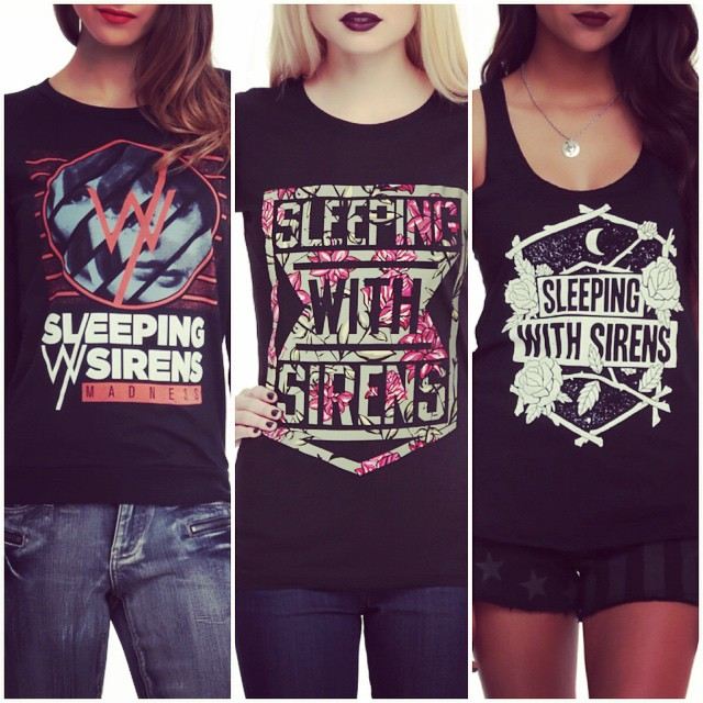 Check out some of the designs we recently created for #sleepingwithsirens. HOTLIFE isn't just a clothing brand, we are artists, and musicians, printers, and painters, and we are also the ones who design all your favorite record covers, Merch, and tours. These 3 new designs are some of the newest we made for #SWS and are available now at #HOTTOPIC worldwide. Pick me up! Enjoy. #HOTLIFECREW #Clothingbrand #designer #art #myart #artist #bands #merch #bandmerch #mikechardcore #florida #independent #clothing