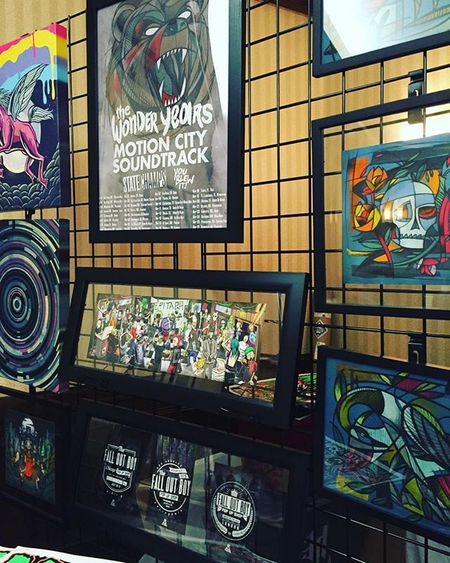 Come to the #brickcitynerdandartfestival  and check out our featured gallery of one of a kind #art pieces. #artist #illustrator #illustration #design #designer #thewonderyears #epitaphrecords