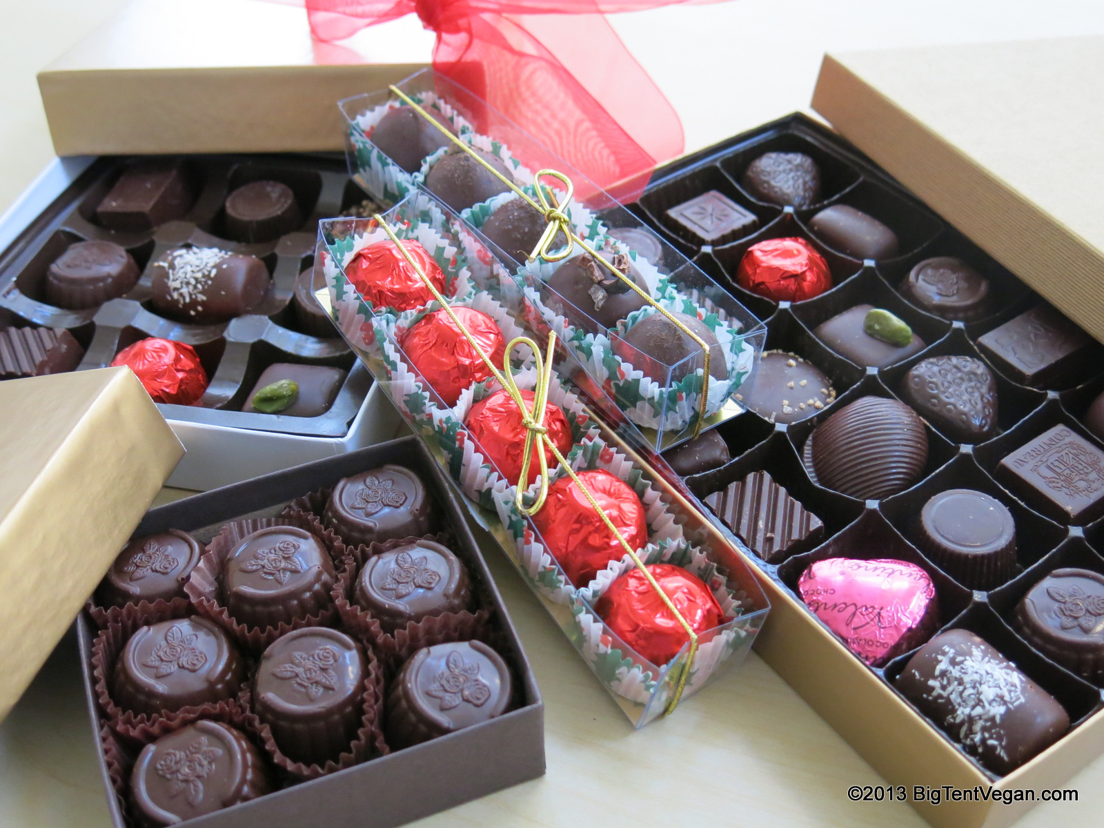 Cordial Cherries, Truffles, Mint Creams, and Assorted Chocolates from Rose City Chocolatier (Martinsburg, WV)