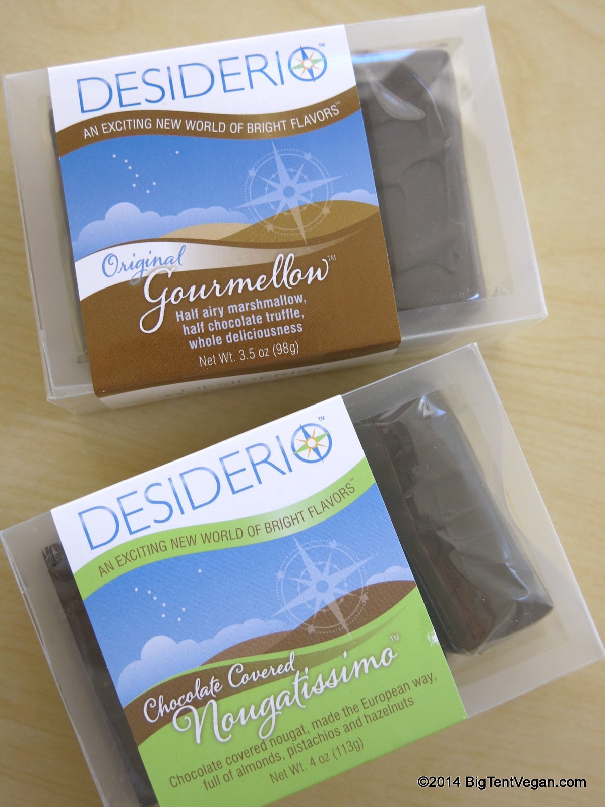 The Original Gourmellow and Chocolate Covered Nougatissimo by Desiderio Chocolates