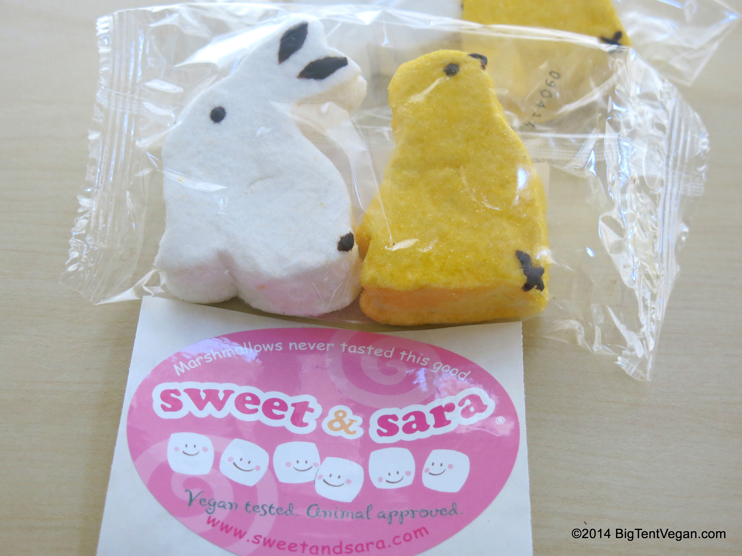 Skipper the Bunny and Sunny the Chick, made by Sweet and Sara (100% vegan company) out of Long Island City, NY, USA.