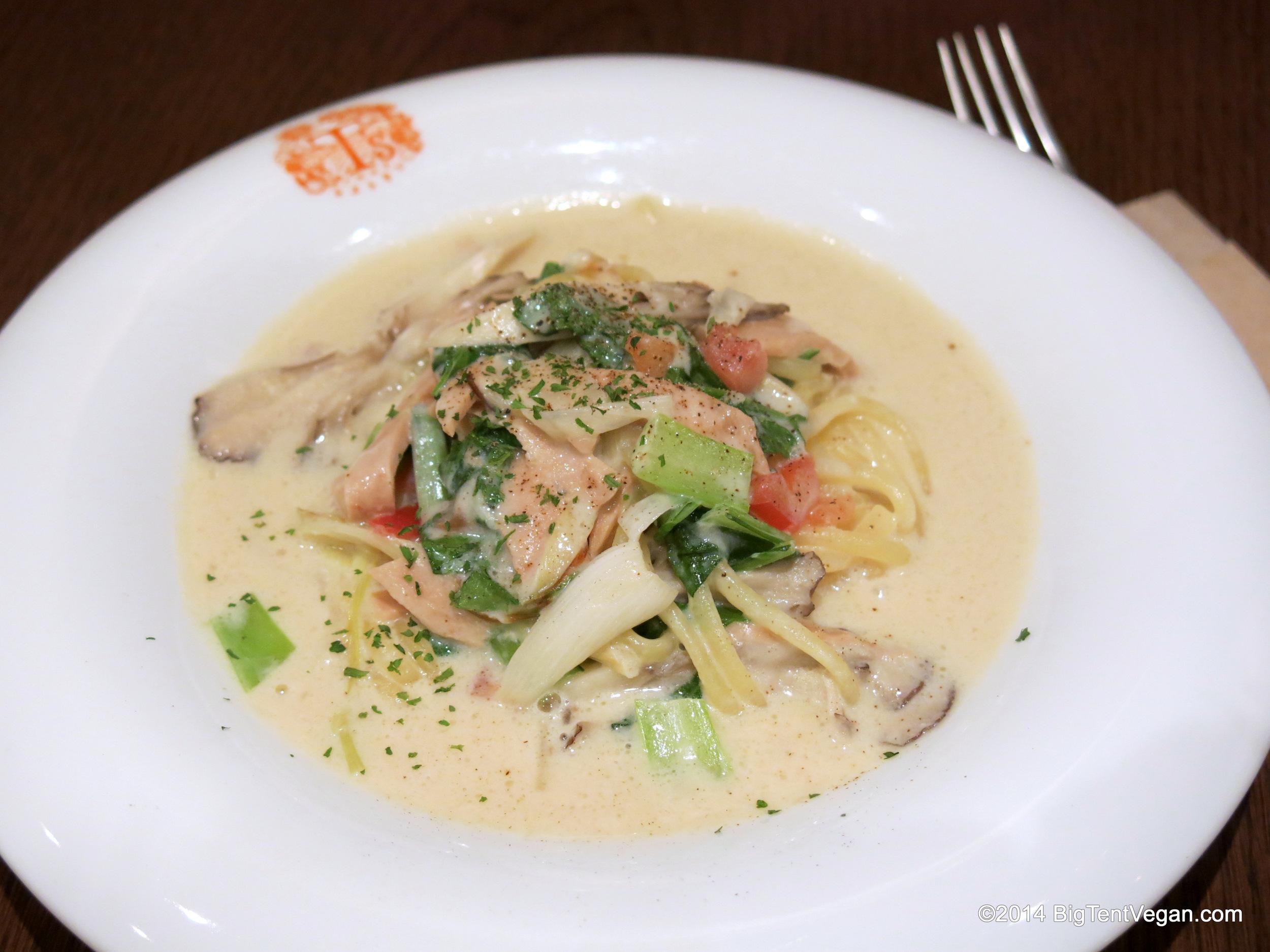 Pasta in a White Cream Sauce