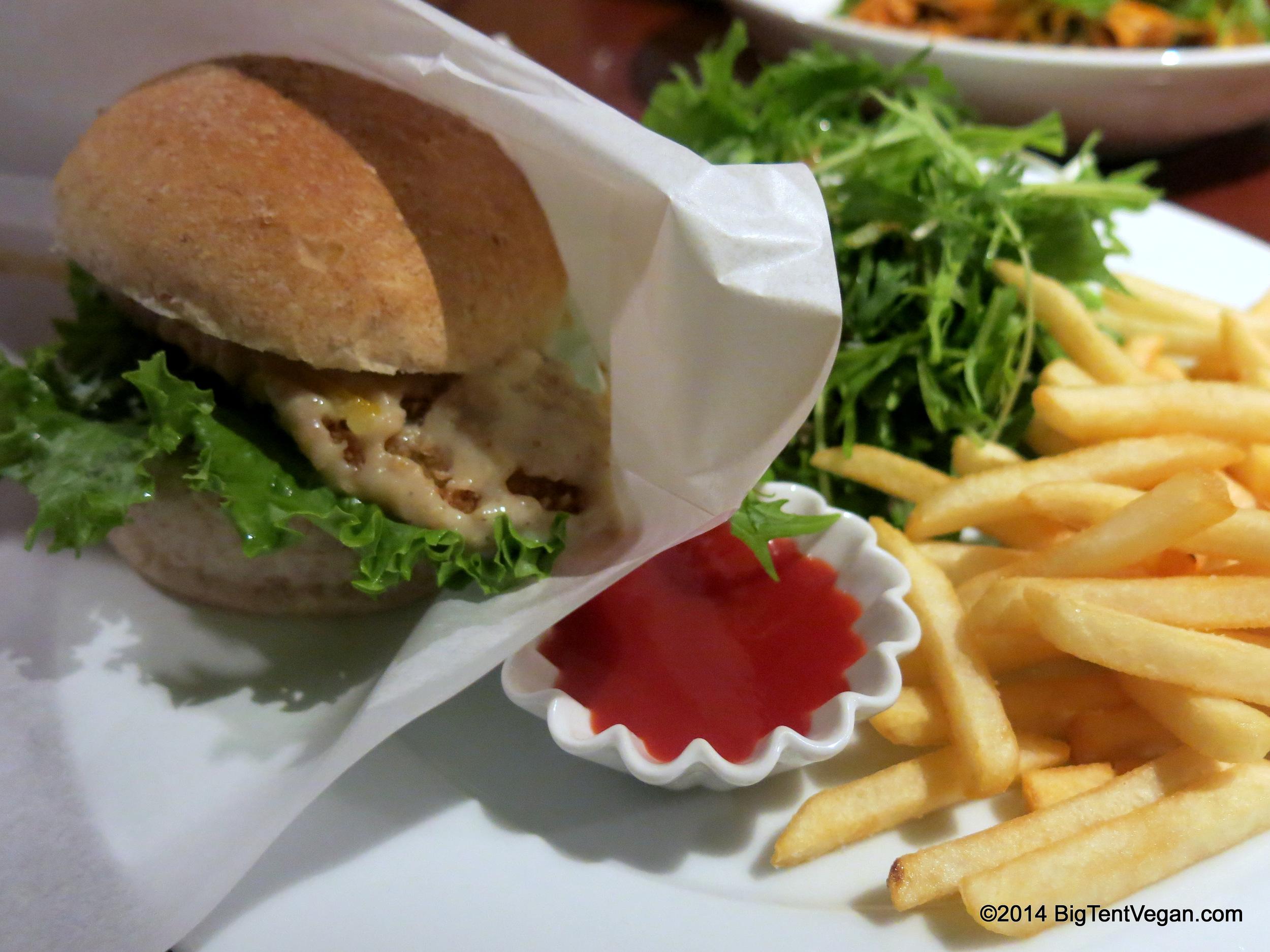 Miso Katsu Burger Kyoto Style
