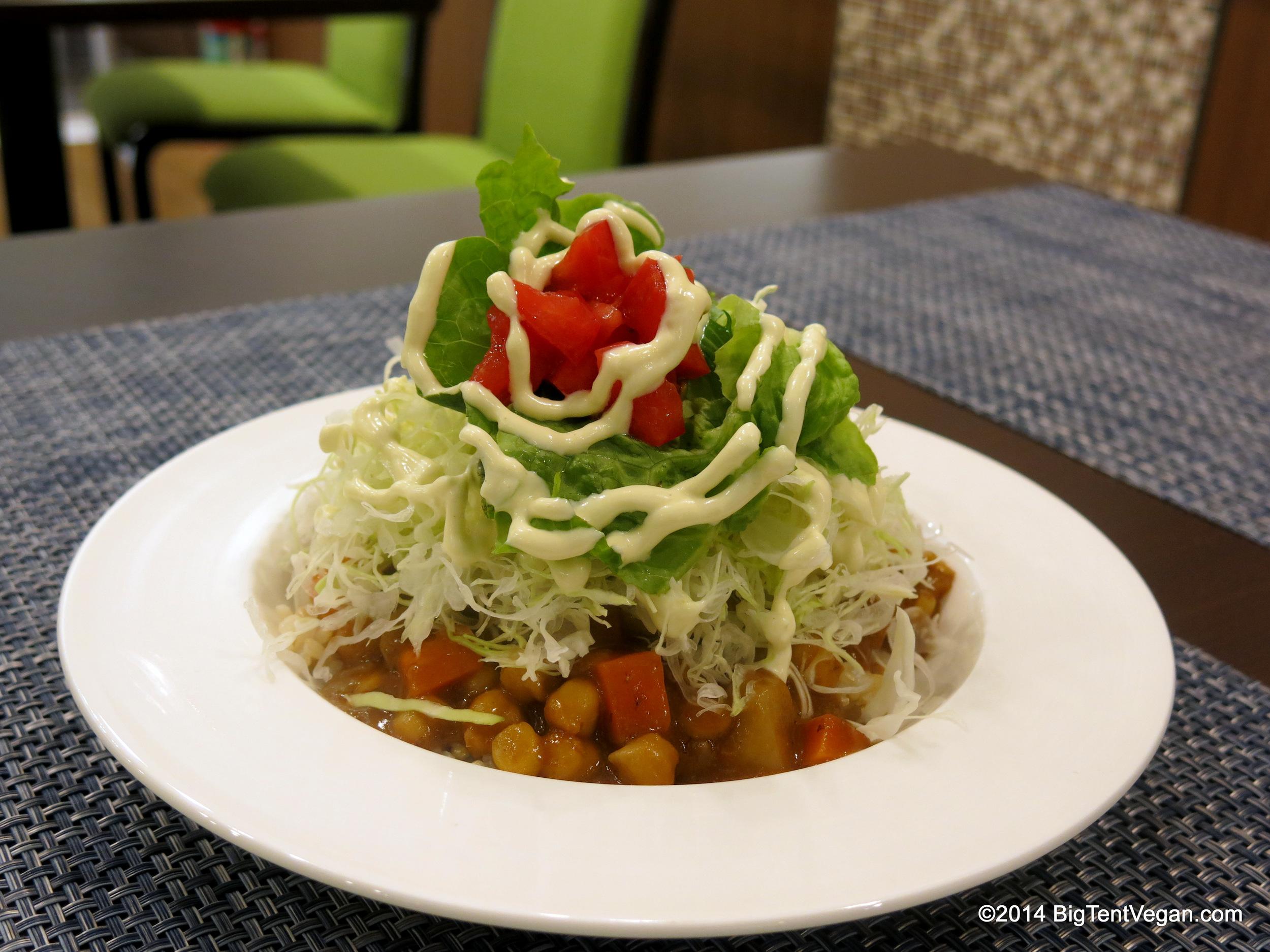 Veggie Taco Rice with Salsa