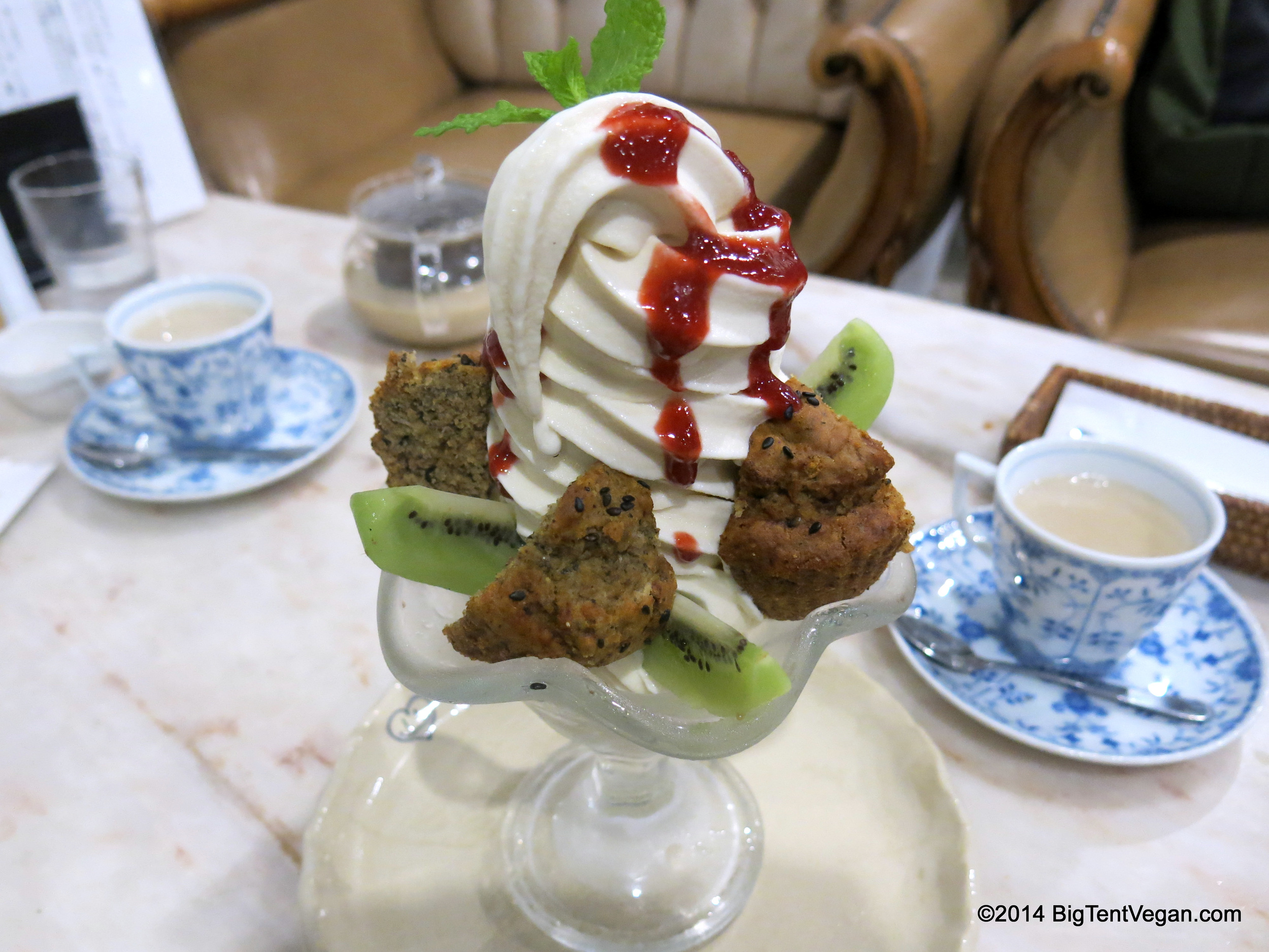 """Soy Soft Cream Parfait with Strawberry Sauce, Banana Muffin, and Fresh Kiwi from 100% vegan Vegans Caf       12.00       é       Normal   0           false   false   false     EN-US   X-NONE   X-NONE                                        MicrosoftInternetExplorer4                                                                                                                                                                                                                                                                                                                                            /* Style Definitions */  table.MsoNormalTable {mso-style-name:""""Table Normal""""; mso-tstyle-rowband-size:0; mso-tstyle-colband-size:0; mso-style-noshow:yes; mso-style-priority:99; mso-style-qformat:yes; mso-style-parent:""""""""; mso-padding-alt:0in 5.4pt 0in 5.4pt; mso-para-margin-top:0in; mso-para-margin-right:0in; mso-para-margin-bottom:10.0pt; mso-para-margin-left:0in; line-height:115%; mso-pagination:widow-orphan; font-size:11.0pt; font-family:""""Calibri"""",""""sans-serif""""; mso-ascii-font-family:Calibri; mso-ascii-theme-font:minor-latin; mso-fareast-font-family:""""Times New Roman""""; mso-fareast-theme-font:minor-fareast; mso-hansi-font-family:Calibri; mso-hansi-theme-font:minor-latin;}     and Restaurant in Kyoto, Japan"""
