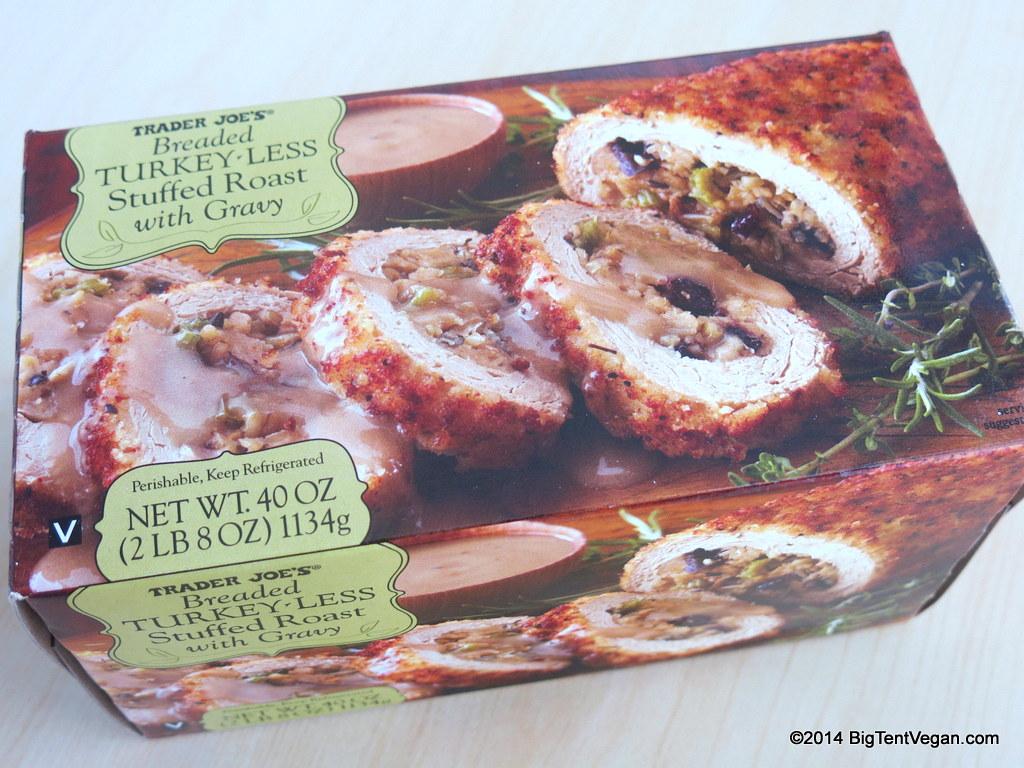 Vegan Turkey Less Roast From Trader Joe S 2014 Big Tent Vegan