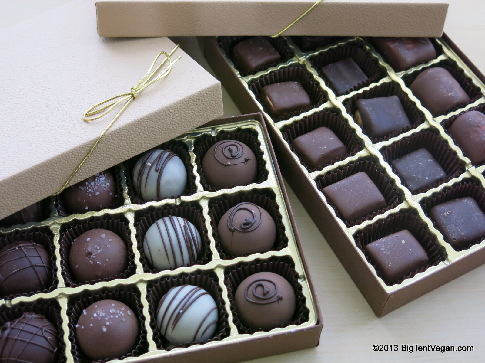 Premium Chocolatiers  All vegan, plus nut-free and gluten-free items galore