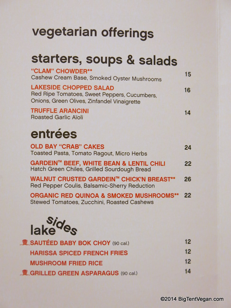 lakeside at the wynn (veg/vegan menu as of dec 2014)