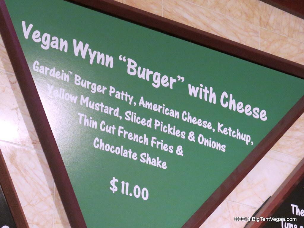 zoozacrackers at the wynn (vegan menu as of dec 2014)