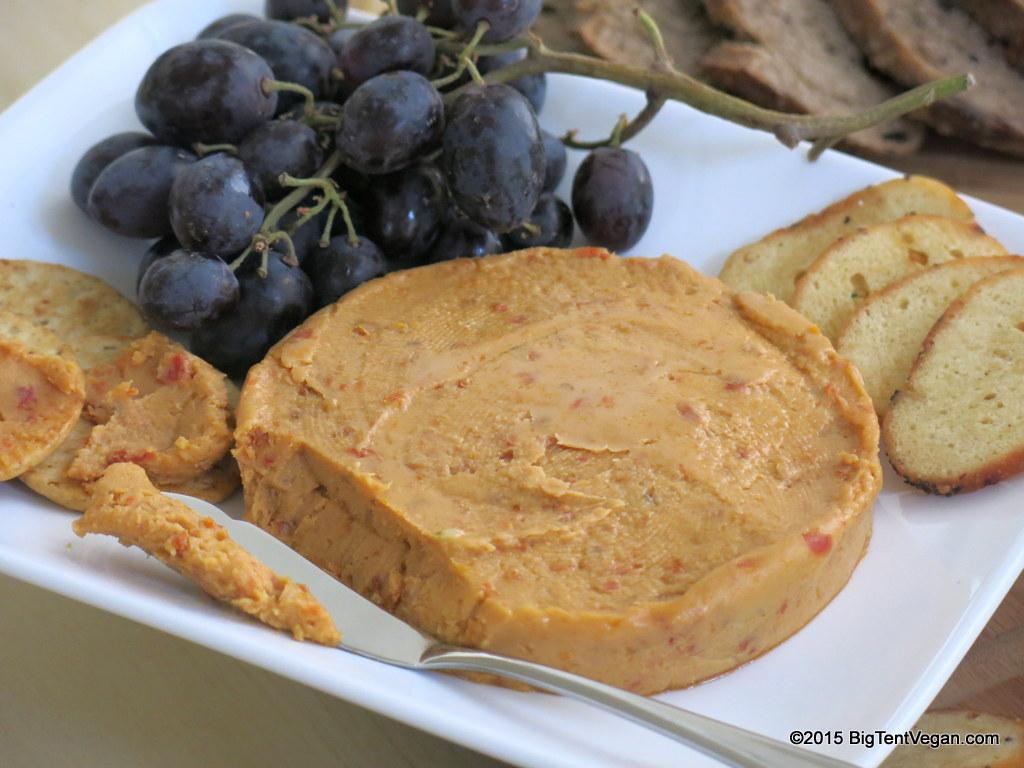 vegan sundried tomato garlic cheese by  miyoko's kitchen