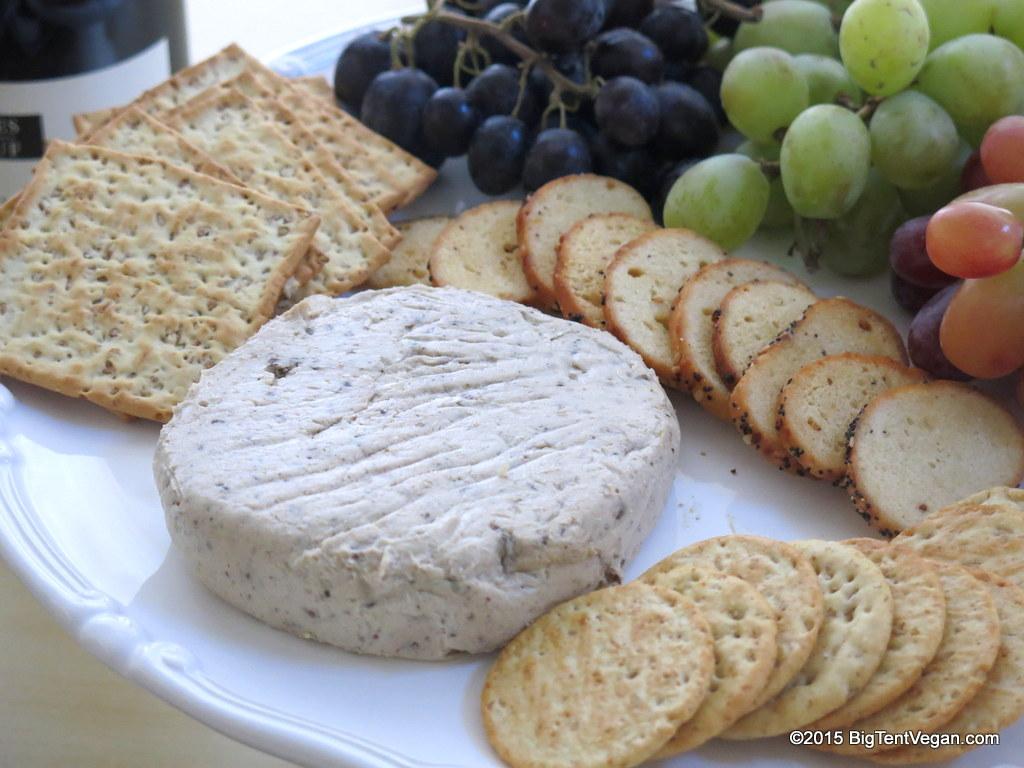 vegan french style winter truffle cheese by  miyoko's kitchen