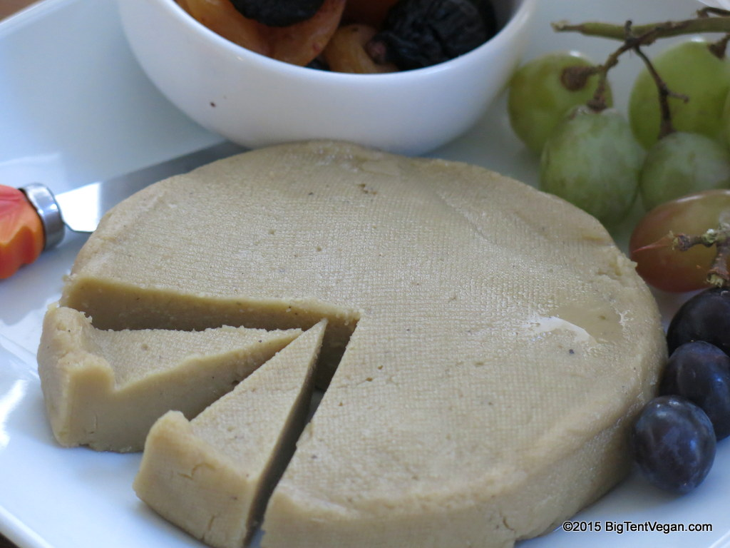 Vegan High Sierra rustic alpine cheese by  miyoko's kitchen