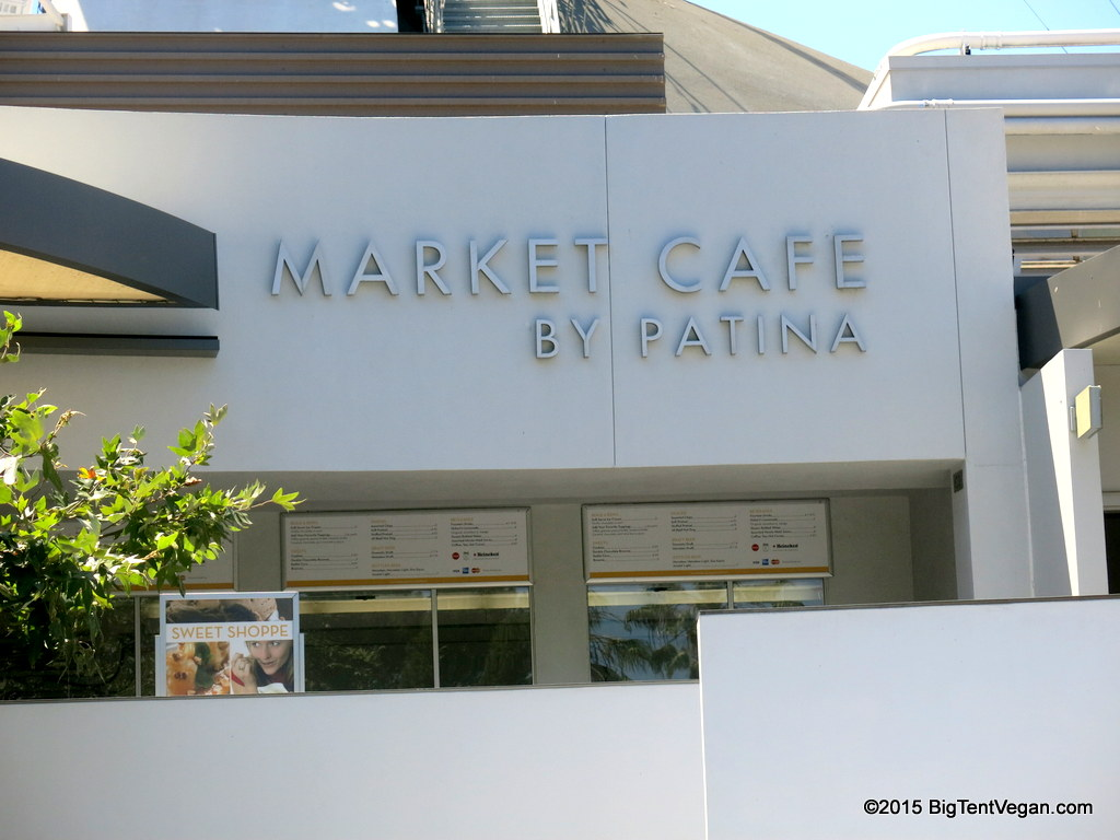 Exterior of Market Cafe