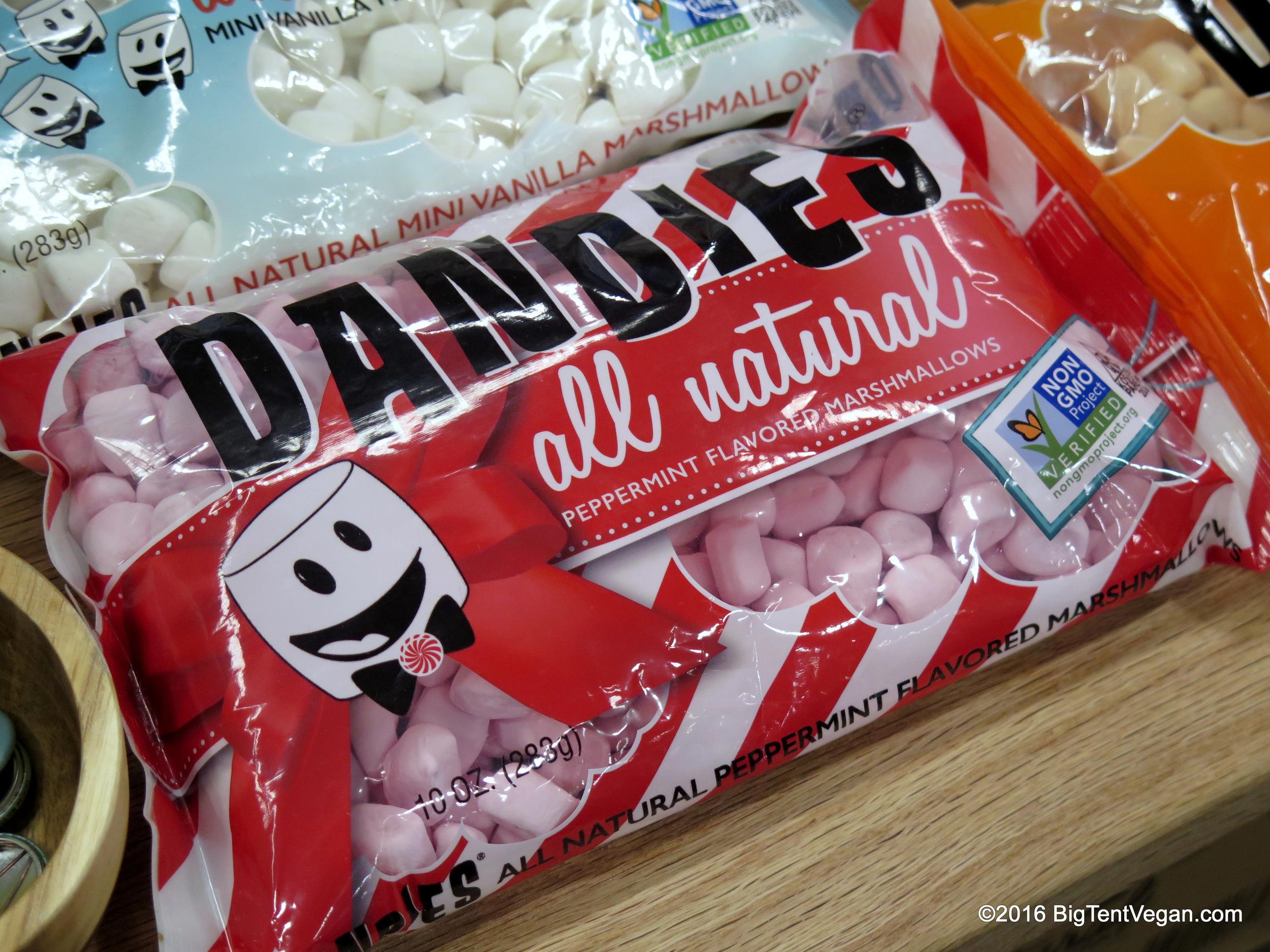 New seasonal Peppermint Dandies!