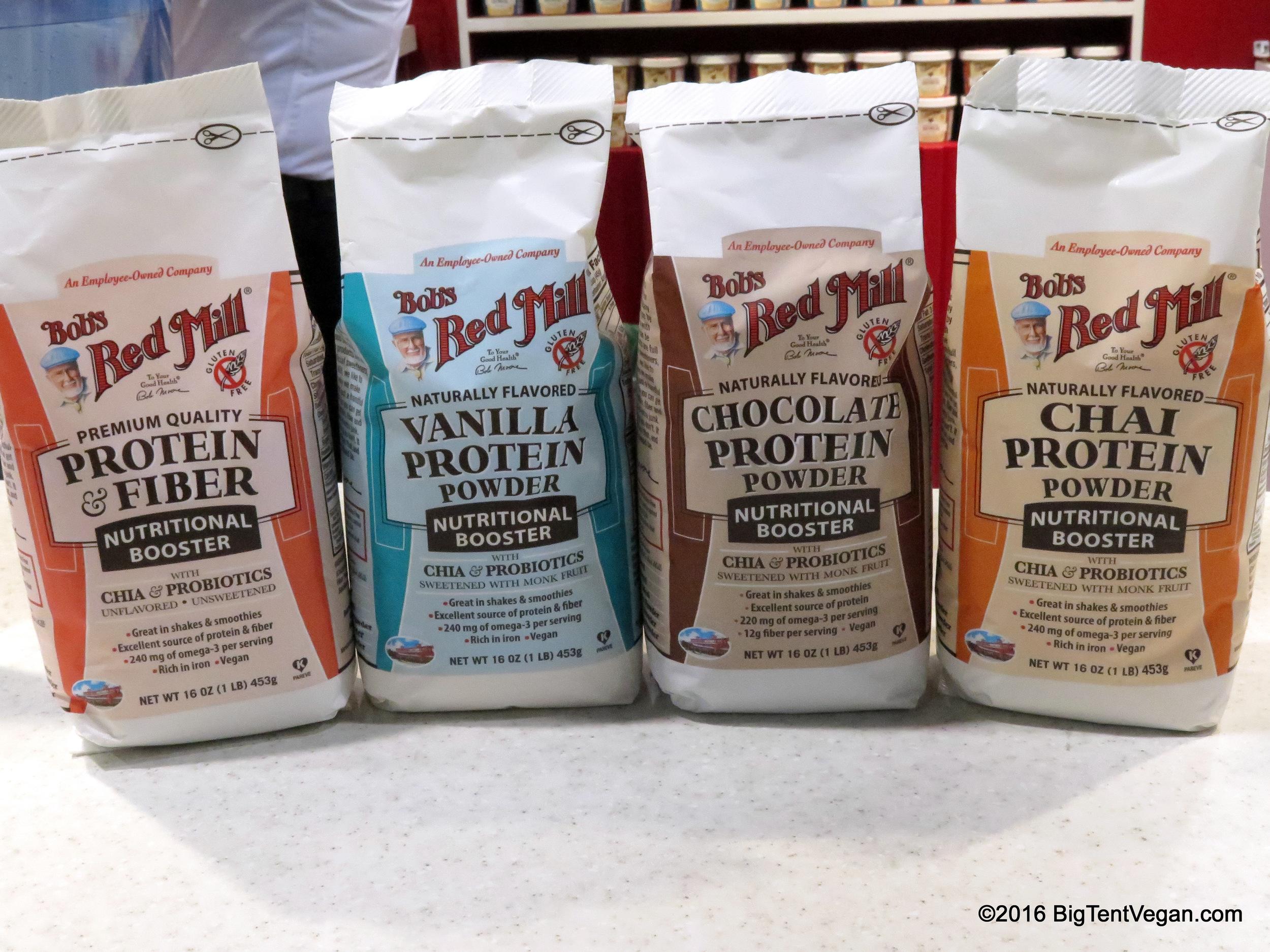 Bob's Red Mill  Vegan Protein Powders