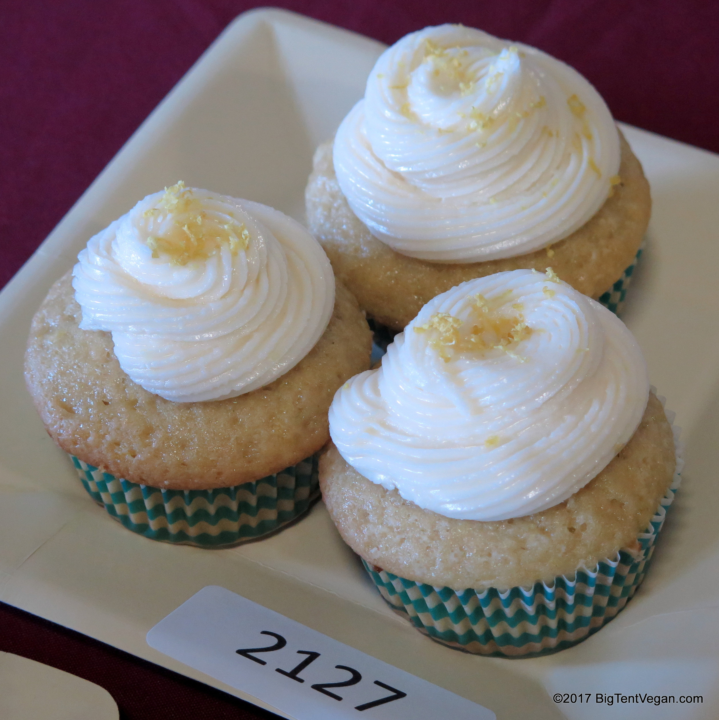 3rd PLACE: ADIJA RAINTREE     TRIPLE LEMON DELIGHT CUPCAKES