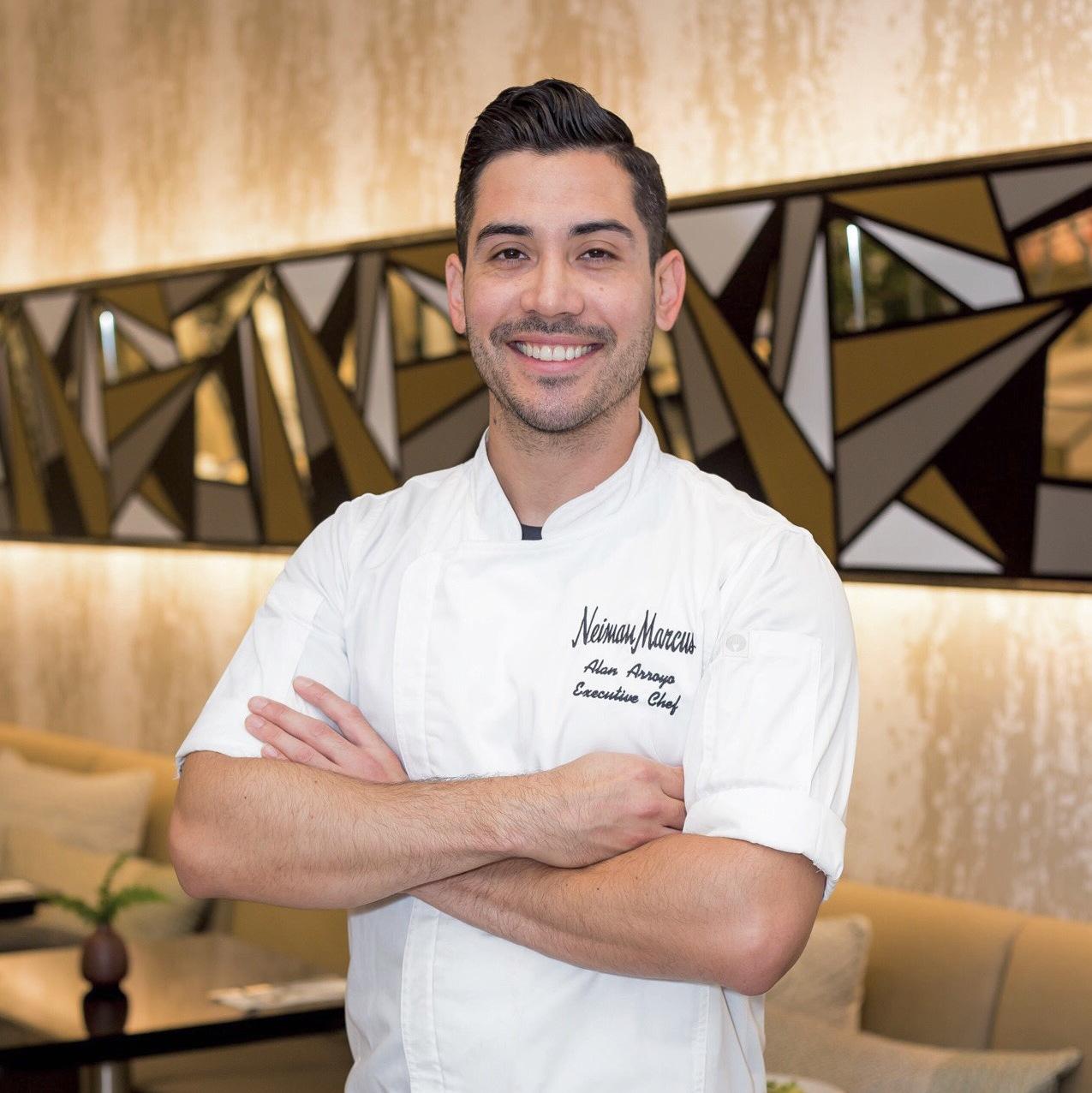 ALAN CAMPOS ARROYO, Regional Executive Chef of  Neiman Marcus
