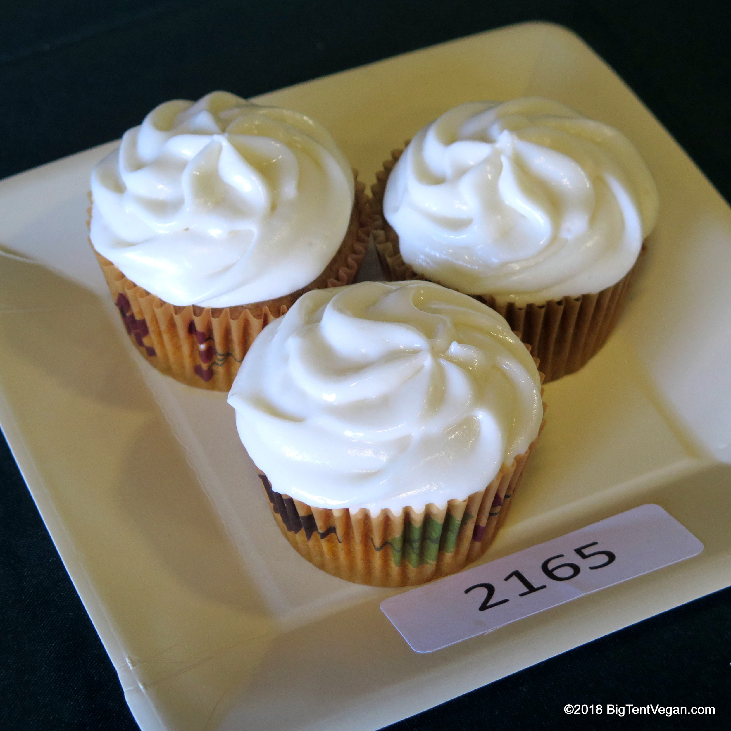 2nd Place: Amber Costantino (   Sweet Charlie's Bakeshop)      Pumpkin Cupcakes with Cream Cheese Frosting