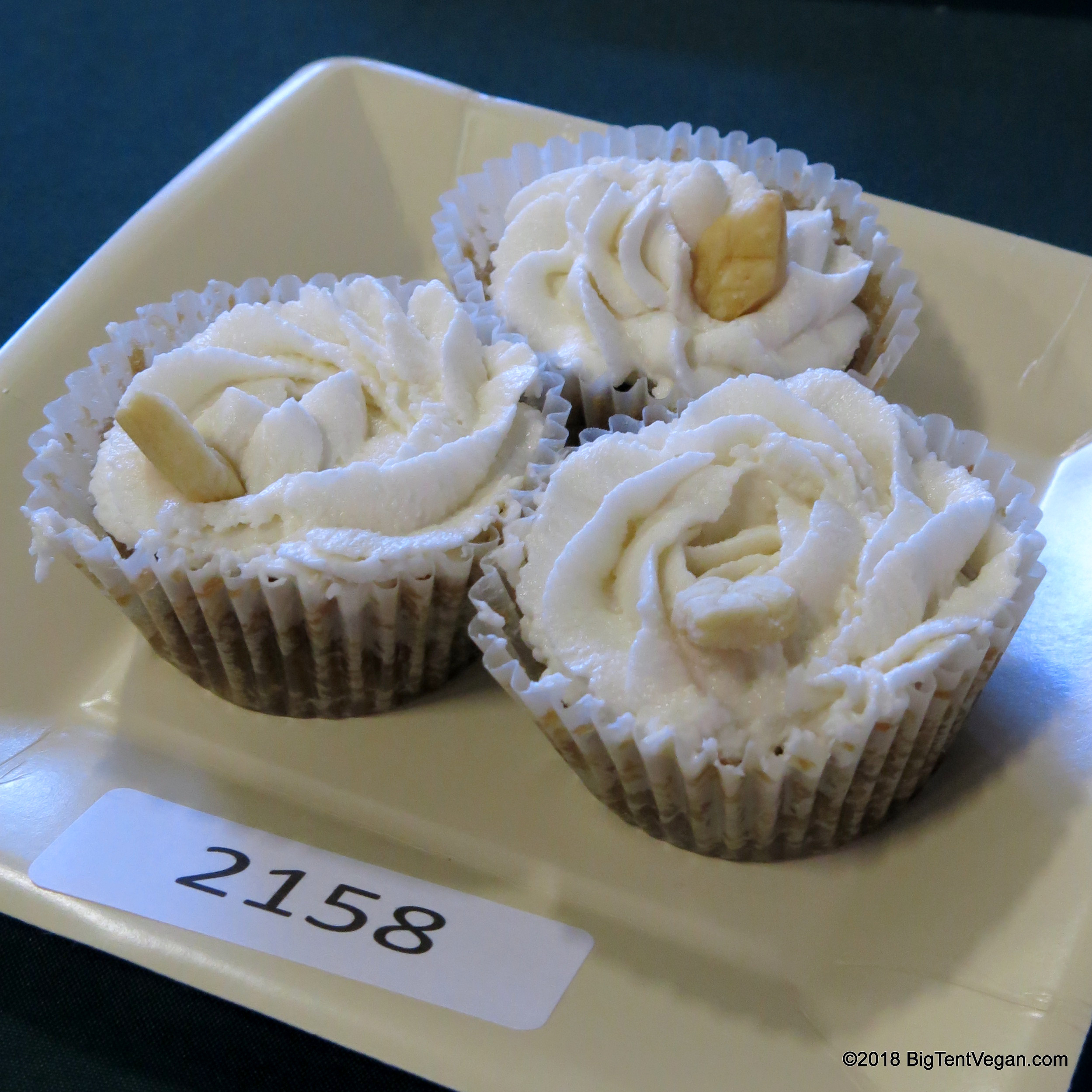 *1st PLACE and BEST OF SHOW*: Mia Bilello     Pecan Pie Cupcakes