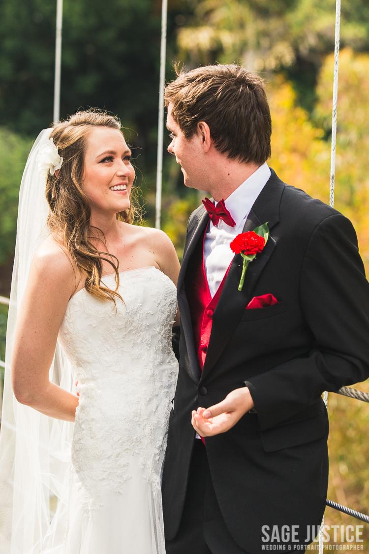 24 Spruce Street Suspension Bridge bride and groom 2.jpg