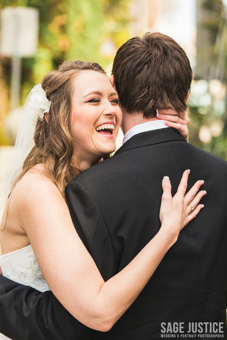 25 Spruce Street Suspension Bridge bride and groom 3.jpg