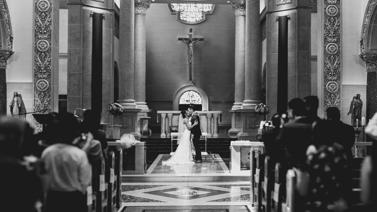 the immaculata wedding