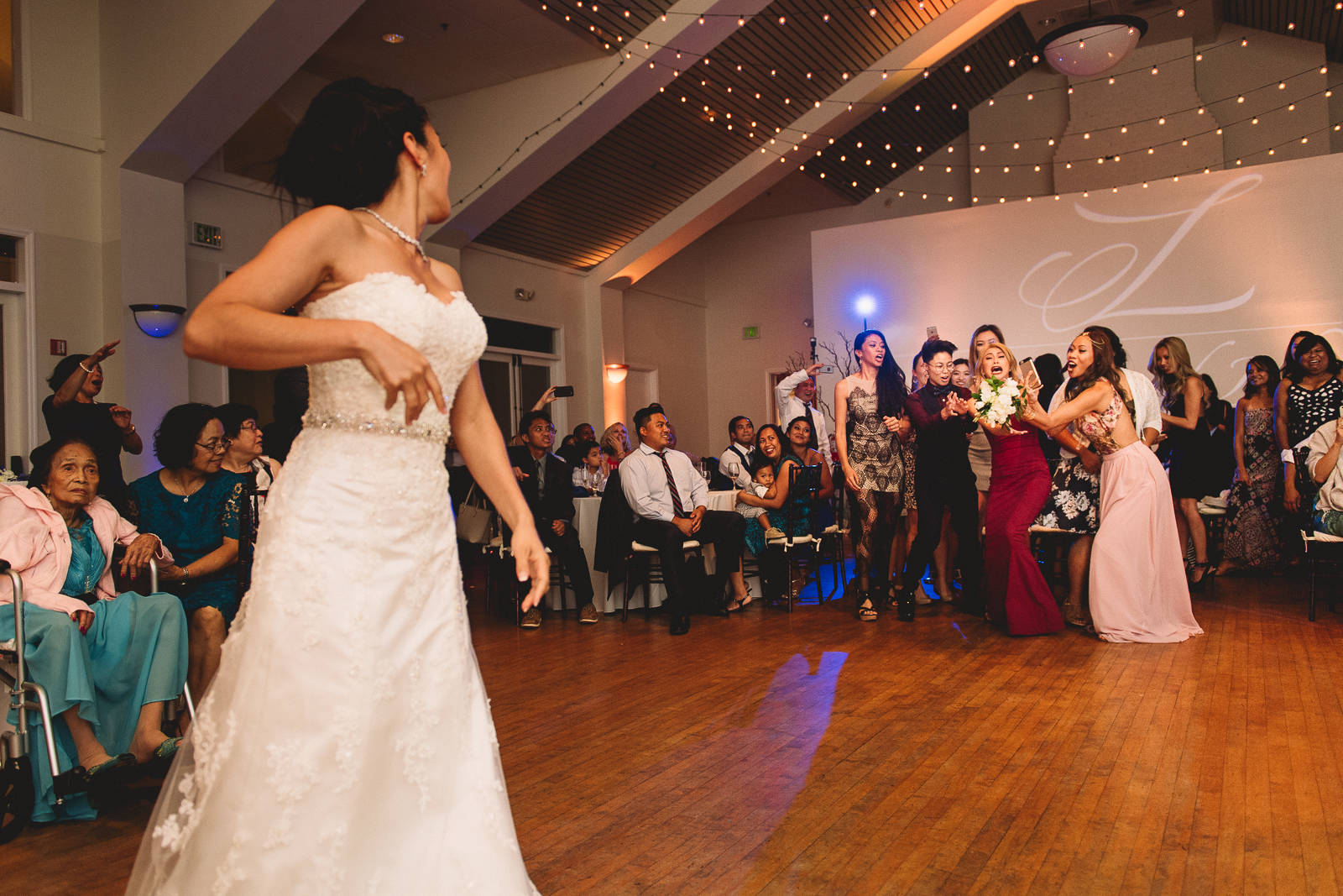 Cuvier club wedding photos