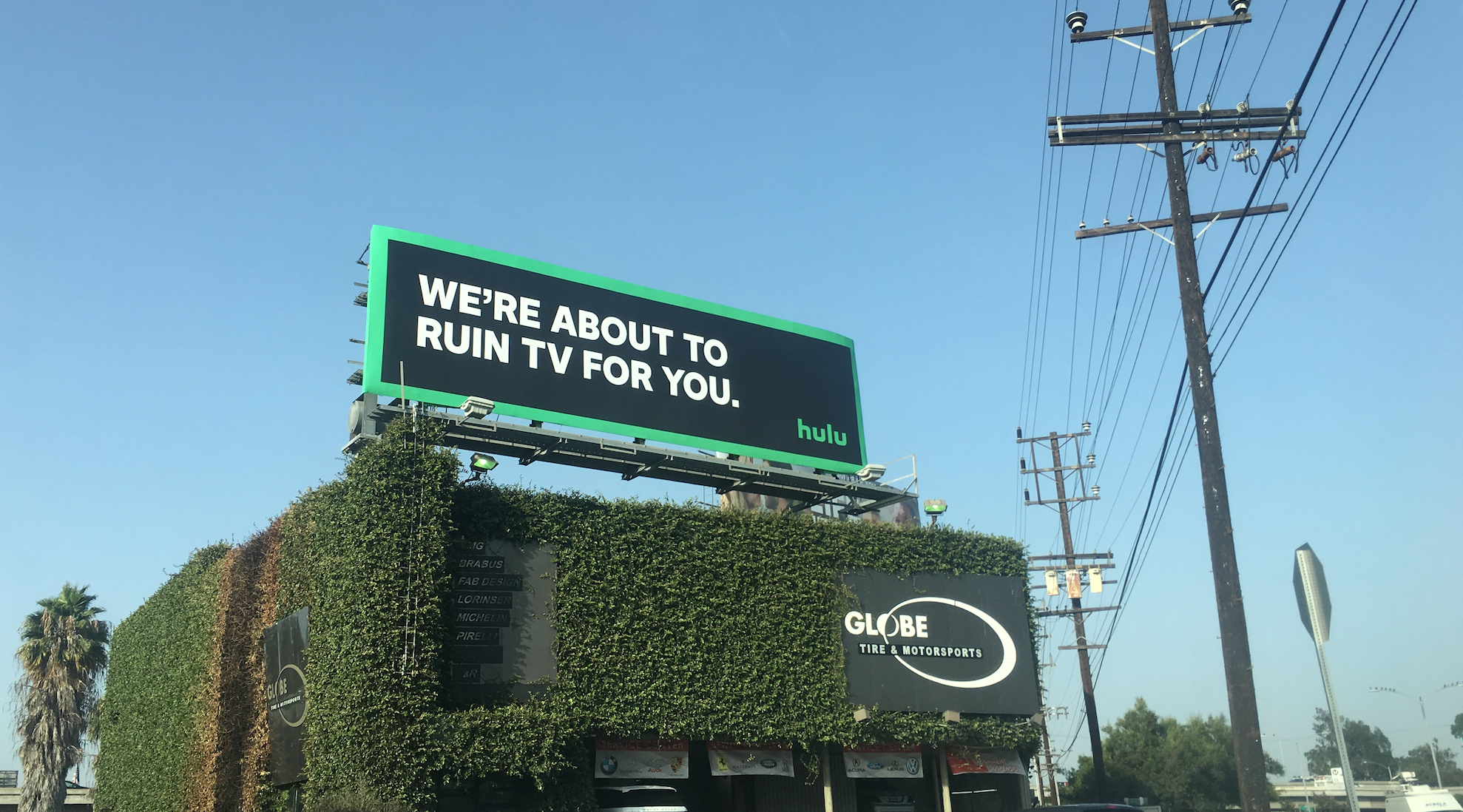 A national OOH buy supported our brand reevaluation efforts.