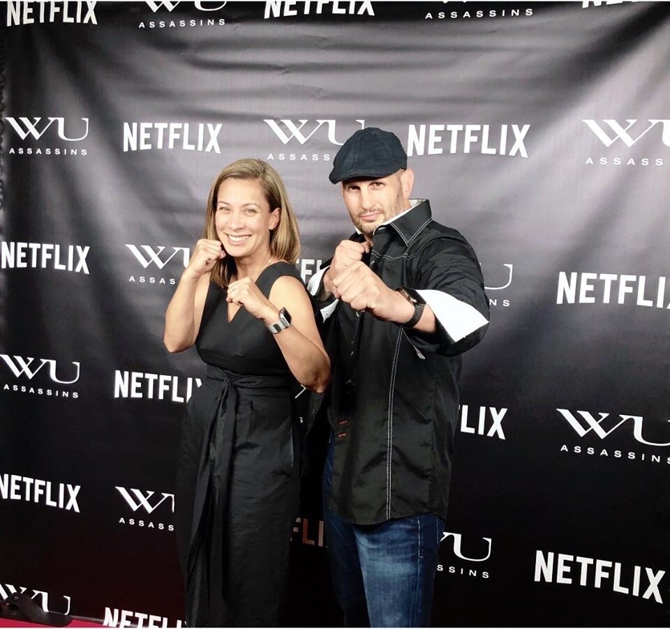 Wu Assassins premiere with legendary Diana Lee Inosanto.