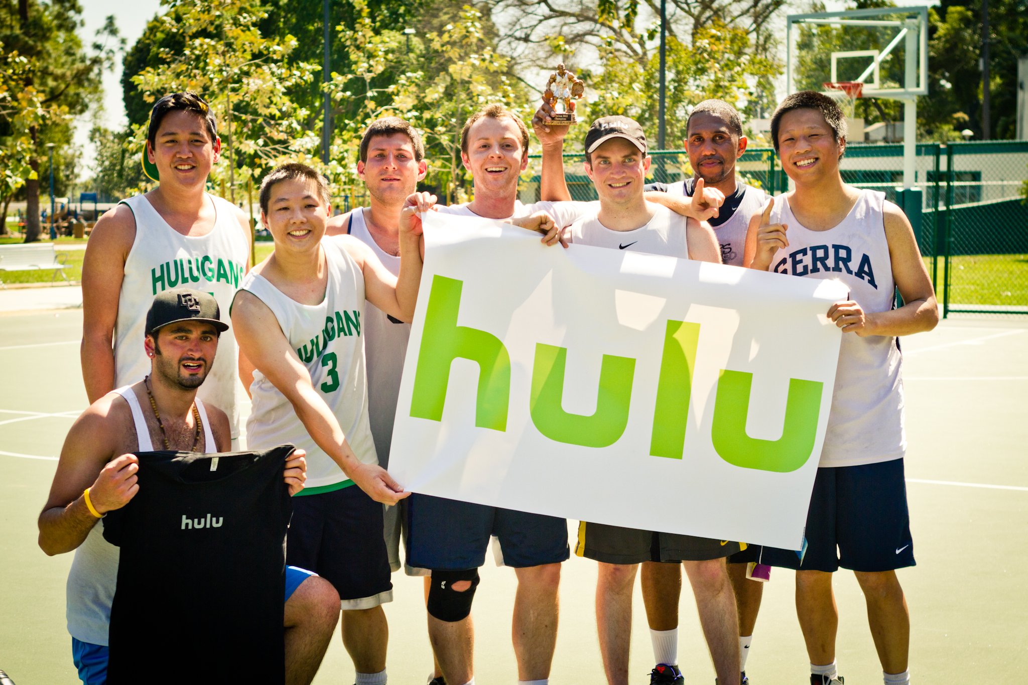 Hulu, our TechJam 2013 Champs.