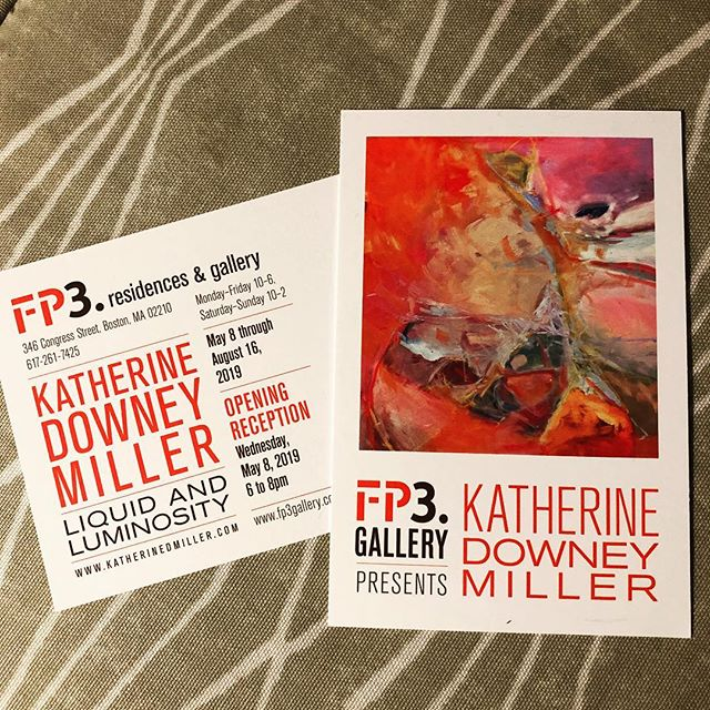 New Gig. Directing @fp3gallery join us for Opening Wednesday May 8, 6 - 8 PM @kdowneymiller #mayhewwine will be pairing wines with paintings and Katherine Downey Miller will be giving artist talk see www.fp3gallery.com